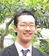 まったく英会話初心者でも根気強く教えてもらえるので安心(英会話初心者K様)という声をもらった日本人英会話講師の写真