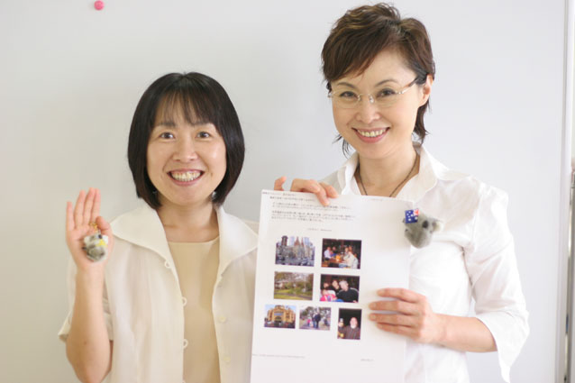 英会話を日本人講師に習う