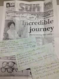 高校生の留学:オーストラリアの新聞にのった生徒さんの話