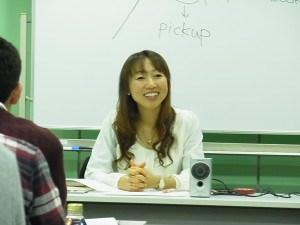 Naomi先生のわかりやすい講義でした