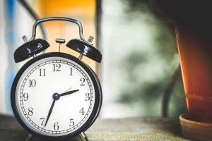 時間の流れをあらわす英単語を覚える
